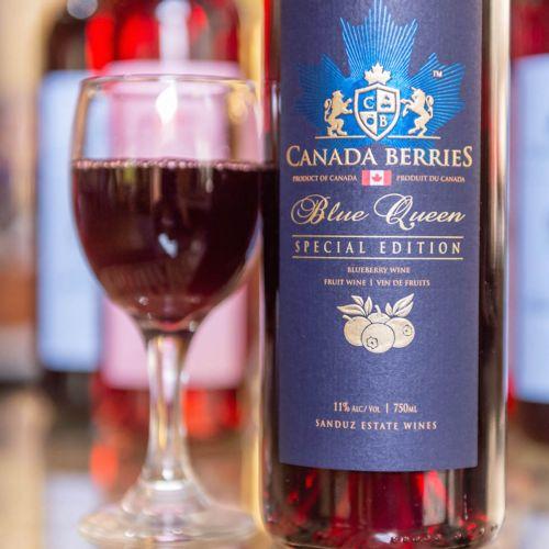 Blueberry Wine 750ml
