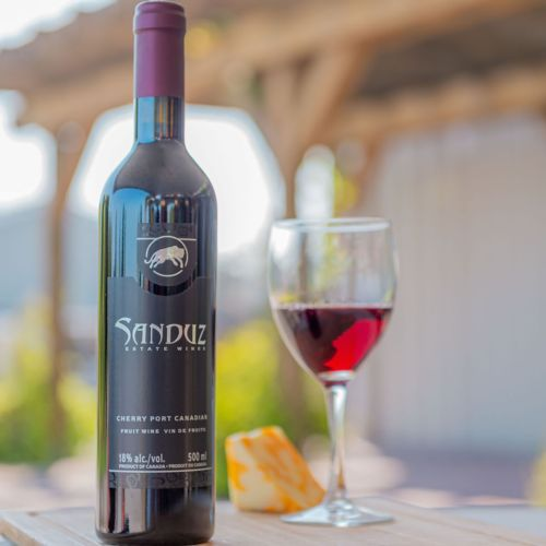 Sanduz Cherry Port Wine 500ml