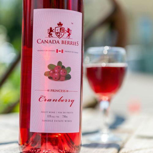 Princess Cranberry 750ml