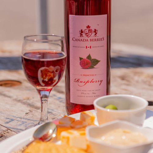 Princess Raspberry Wine 750ml