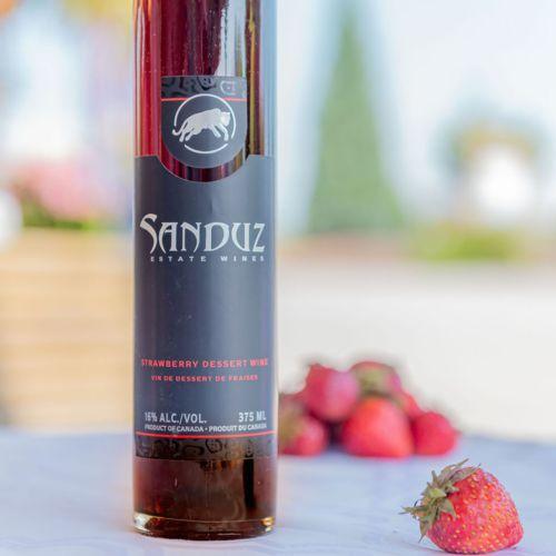 Sanduz Strawberry Dessert Wine 375ml