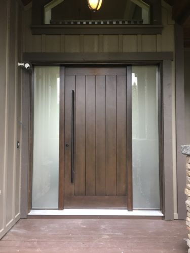 Gift certificate for interior or exterior door package
