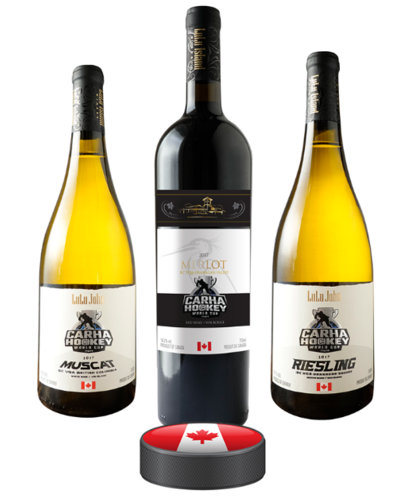 Case of CARHA Hockey special edition wines (6 bottles)
