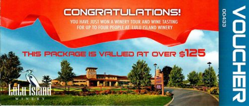 Lulu Island Winery wine-tour vouchers