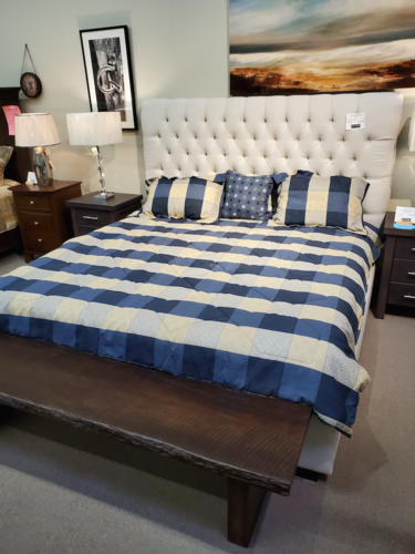 Image 1 for Tufted King Bed
