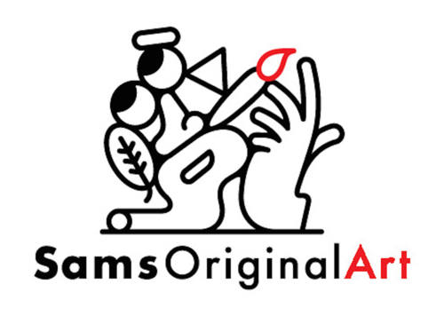 Logo for Sams Original Art