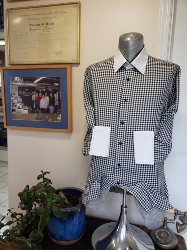 $100.00 gift card towards purchase of a Custom Tailored Men or Woman' s Dress Shirt